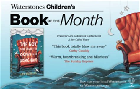 Waterstones Lit Book Of The Month by Publication Day The Boy Who Sailed The In An