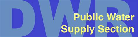 public water supply section nc dwr gt public water supply