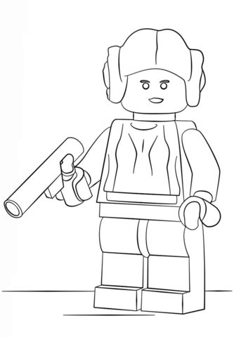free coloring pages of princess leia lego princess leia coloring page free printable coloring