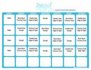 Brazil Lift Calendar Brazil Lift Workout Calendar Print A Workout Calendar
