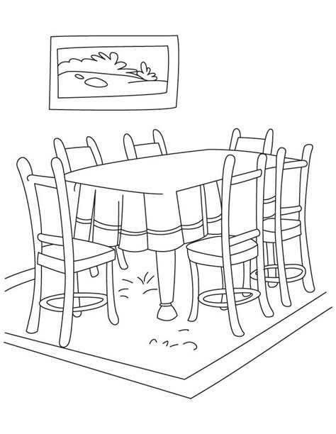 Dining Room Table Clipart Black And White Cool Dining Room Clipart Gallery Best Inspiration Home Design Eumolp Us