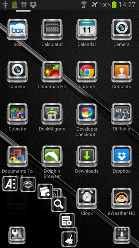 chrome themes phone next launcher theme chrome 3d v1 4 android apps