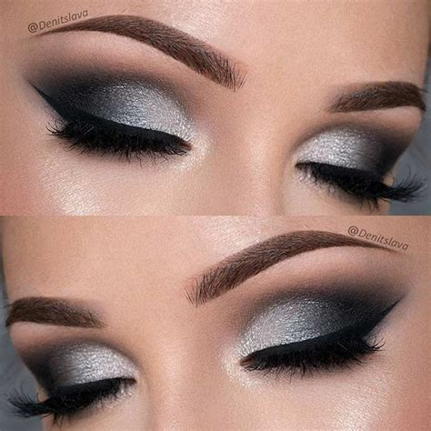 Eyeshadow Silver 21 insanely beautiful makeup ideas for prom stayglam