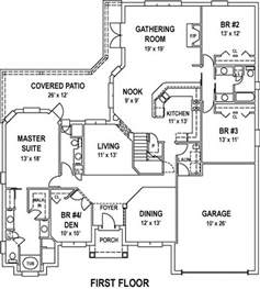 Large House Floor Plans by Large Open Floor Plan Beach House Plan Alp 099d