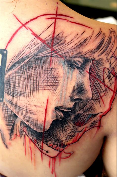 cross hatching tattoo jacob pedersen 30 the vandallist