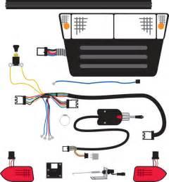 Club Car Lighting Wiring Diagram Turn Signal Wiring Diagram For Club Car Ds Get Free