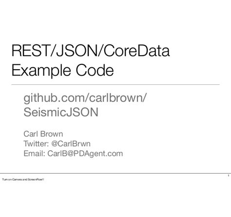 tutorial php rest json rest json coredata exle code a tour