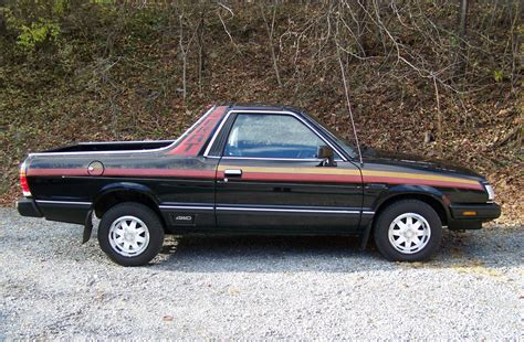 subaru 4x4 1984 subaru brat gl 4x4 low mileage survivor