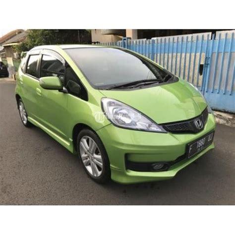 Karpet Dasar Semi Kulit Warna Honda Mobilio Facelift Tipe Rs honda jazz rs tahun 2011 automatic warna hijau metalik jakarta selatan dijual tribun jualbeli