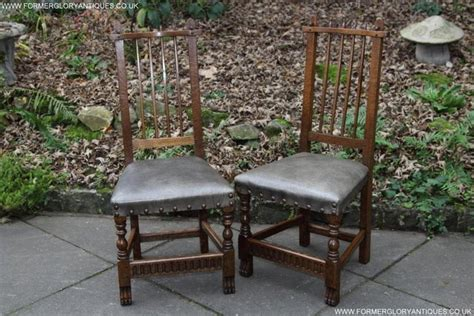 leather dining chairs preloved rupert nigel griffiths oak leather dining set table chairs