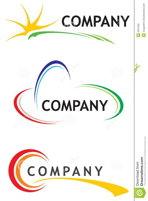 corporate logo templates corporate logo templates royalty free stock photo image