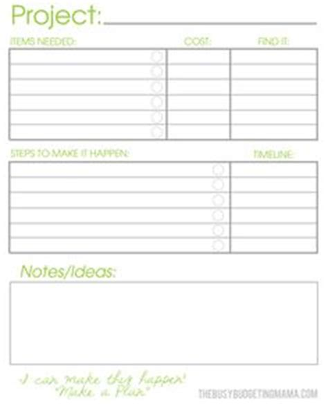 free printable weekly project planner printables on pinterest blog planner home management
