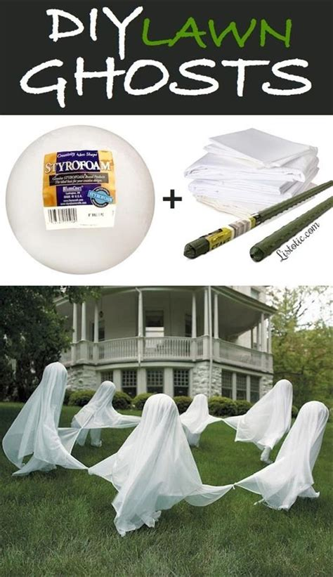 easy diy halloween home decor ideas with ghosts bats and diy halloween craft ideas 30 pics