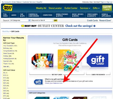 Bestbuy Gift Card Check - how to check your best buy gift card balance