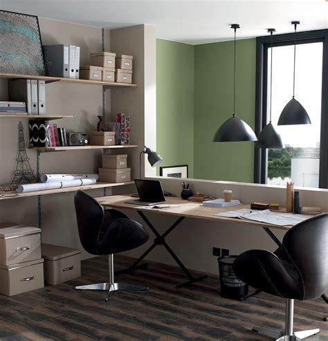 le de bureau verte le marron inspirations d 233 co maison