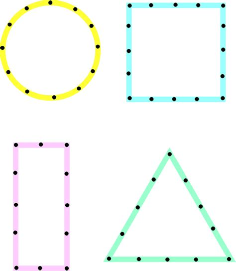 dot pattern multiple square shapes dot to dot shapes preschool staff traces with a