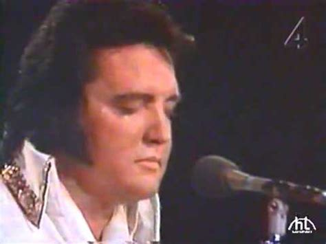 elvis presley last song ever 1977 youtube