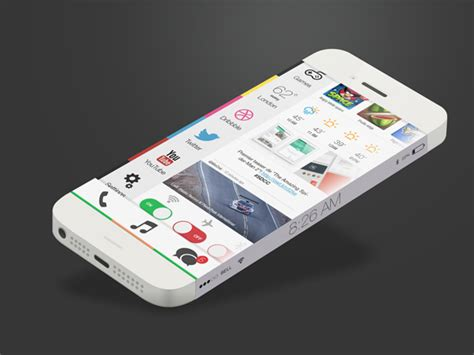 iphone ios 8 layout 15 cool ios 8 design concepts you should see