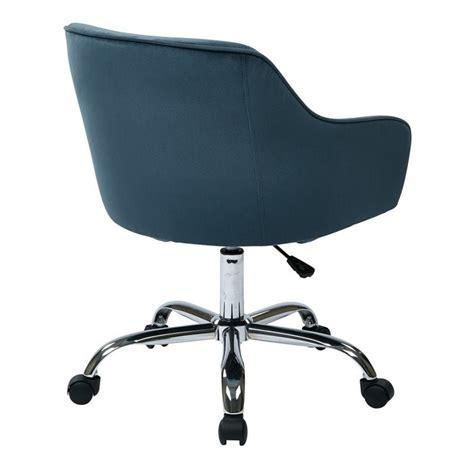 blue velvet office chair task office chair in atlantic blue velvet brl26 b20