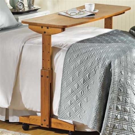 rolling bed table pin by glenda collins emerson on caregiving pinterest