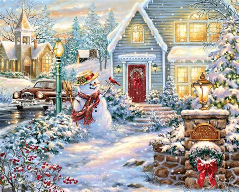 1000 piece christmas puzzles christmas decore