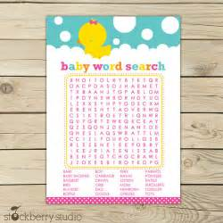 find baby shower free baby shower print outs rubber ducky baby