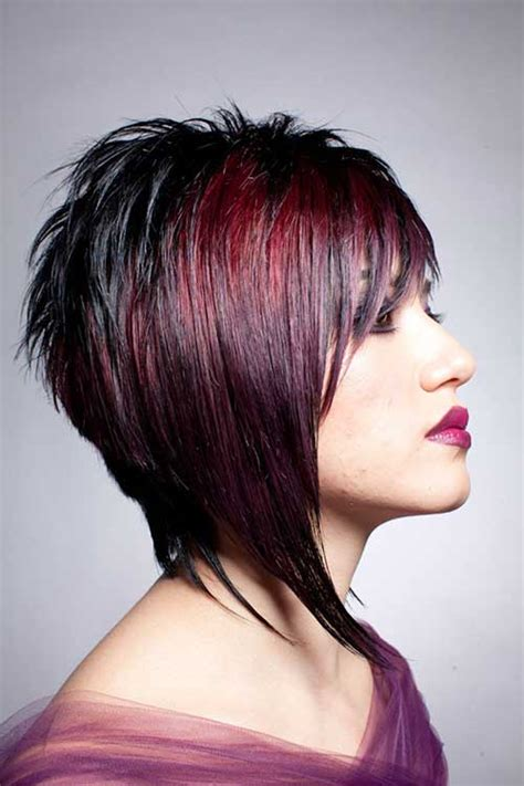 funky hair color ideas for older women twenty best funky short hair haircuts 2016 hair