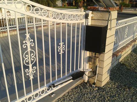 swing gate opener installation garages gate repair swing gates awesome