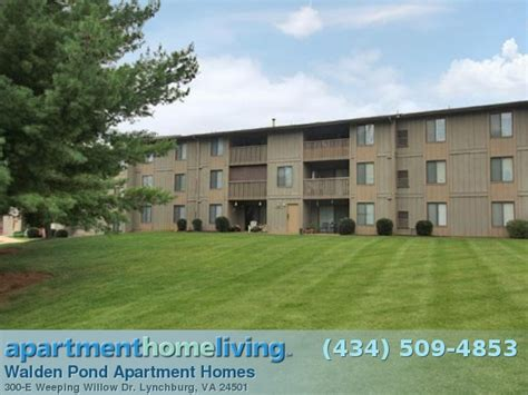 Apartment Homes Lynchburg Va Apartments Walden Pond | building