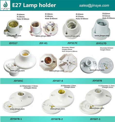 fluorescent light socket types porcelain standard e26 e27 ceramic edison type