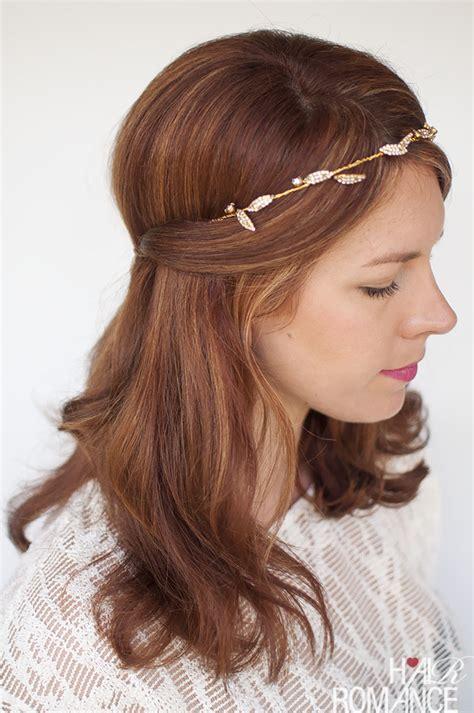 Get The Look The Headband Revolution by Wedding Hair Inspiration One Headband Three Ways Hair