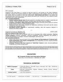 Sample Consultant Resume It Consultant Resume Sample
