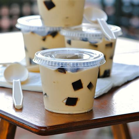 Coffee Jelly jules food espresso pudding coffee jelly