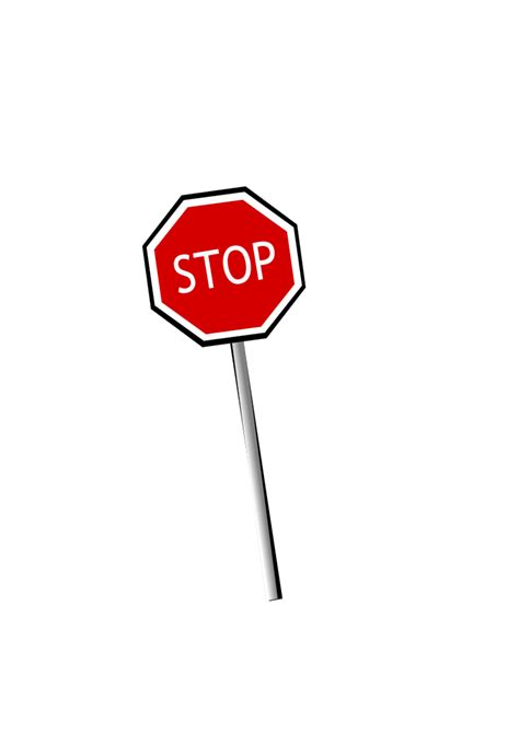 Stop With The by Sign Stop Png