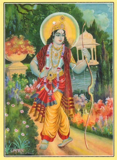 ram hindu god hindu god ram religious painting artwork india painting by
