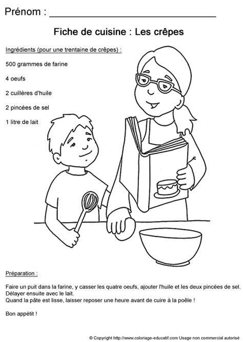 dessin recette de cuisine coloriages de cuisinier les personnages page 2