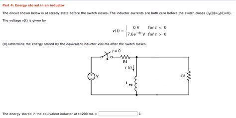 inductor test questions inductor circuit questions 28 images capacitor steady state rlc circuit with dependent