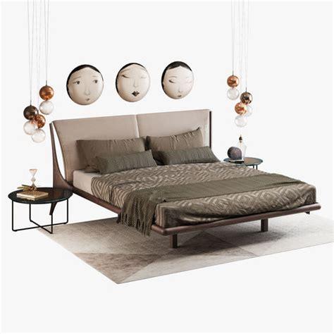 nelson beds 3d cattelan italia nelson bed set cgtrader