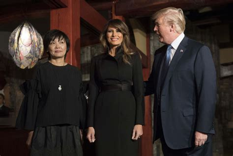 donald trump asia tour donald trump asia tour melania trump steps out with new