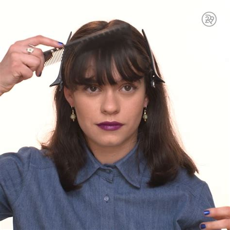 how to cut your own bangs over 40 25 best ideas about layered bob bangs on pinterest