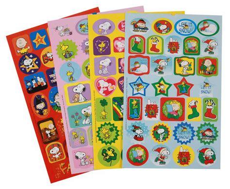 Sticker Book peanuts seasons and holidays sticker book eureka school