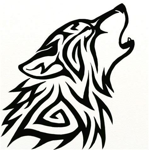 60 Tribal Wolf Tattoos Designs And Ideas Awesome Wolf Designs