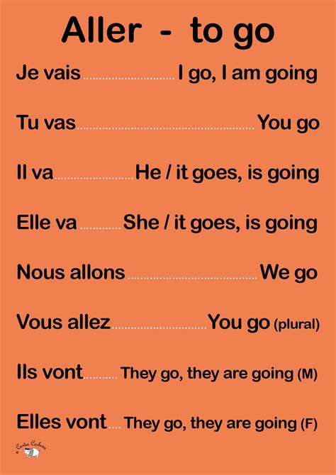 To Go verb to go