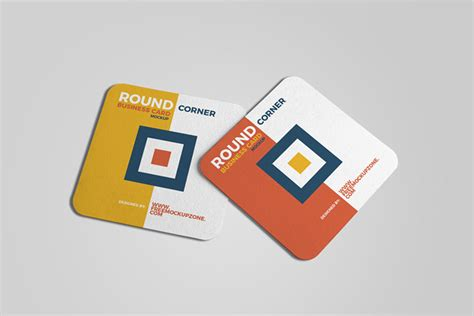 Free Square Business Card Template Psd by This Free Square Business Card Mockup In Psd