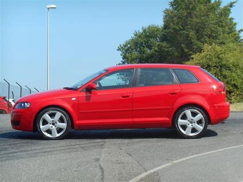 Red Audi A3 For Sale by Used Audi A3 2008 Model 1 9 Tdi Special Edition Diesel