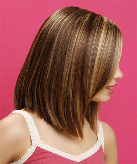 medium bob back of hair picture layered bob hairstyles back view long straight formal