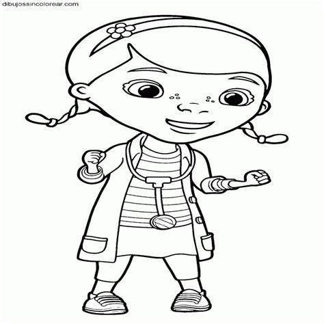imagenes para colorear la doctora juguetes dibujos sin colorear dibujos de personajes de doctora