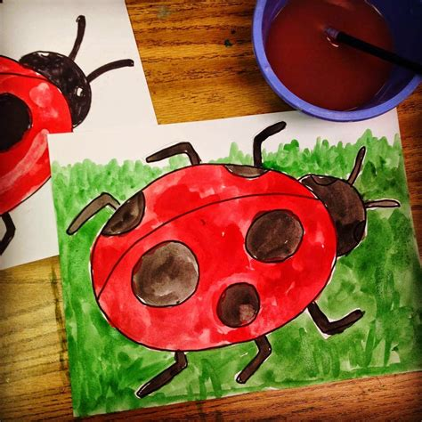 ladybug craft projects projects for ladybug painting