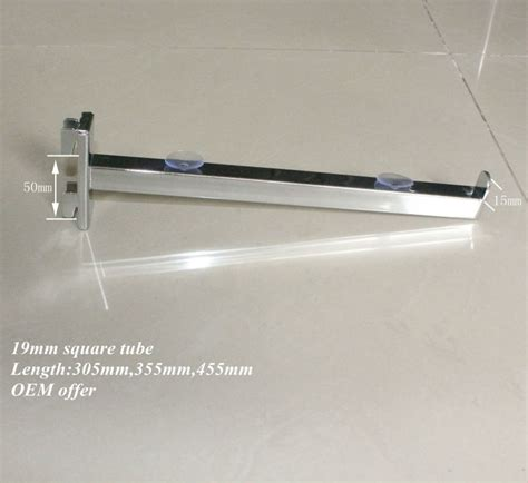 high quality slotted glass shelf bracket support