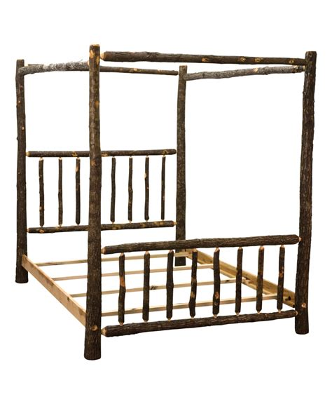 log canopy bed canopy log bed amish direct furniture